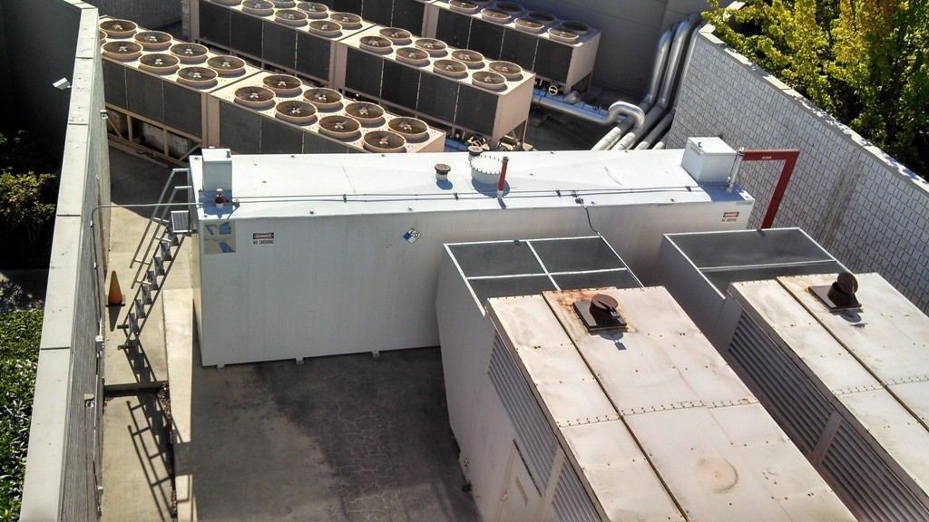 Property management pictures roof top