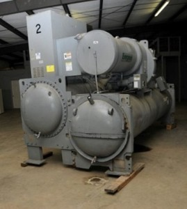 Carrier 550 ton chiller