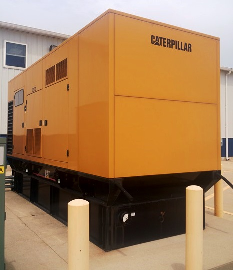 Cat 800 kW Diesel Generator Enclosure 2