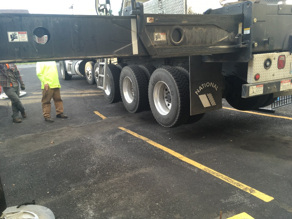 truck delivery at MAP communications
