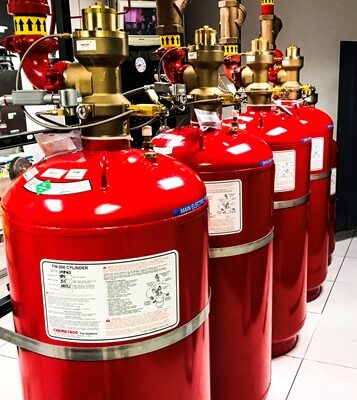 Trinity Health Project Fire Suppression canisters