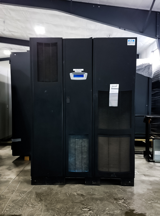 275 kVA Eaton UPS in great condition  Two matching units available