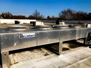 4 Fan Liebert Condenser