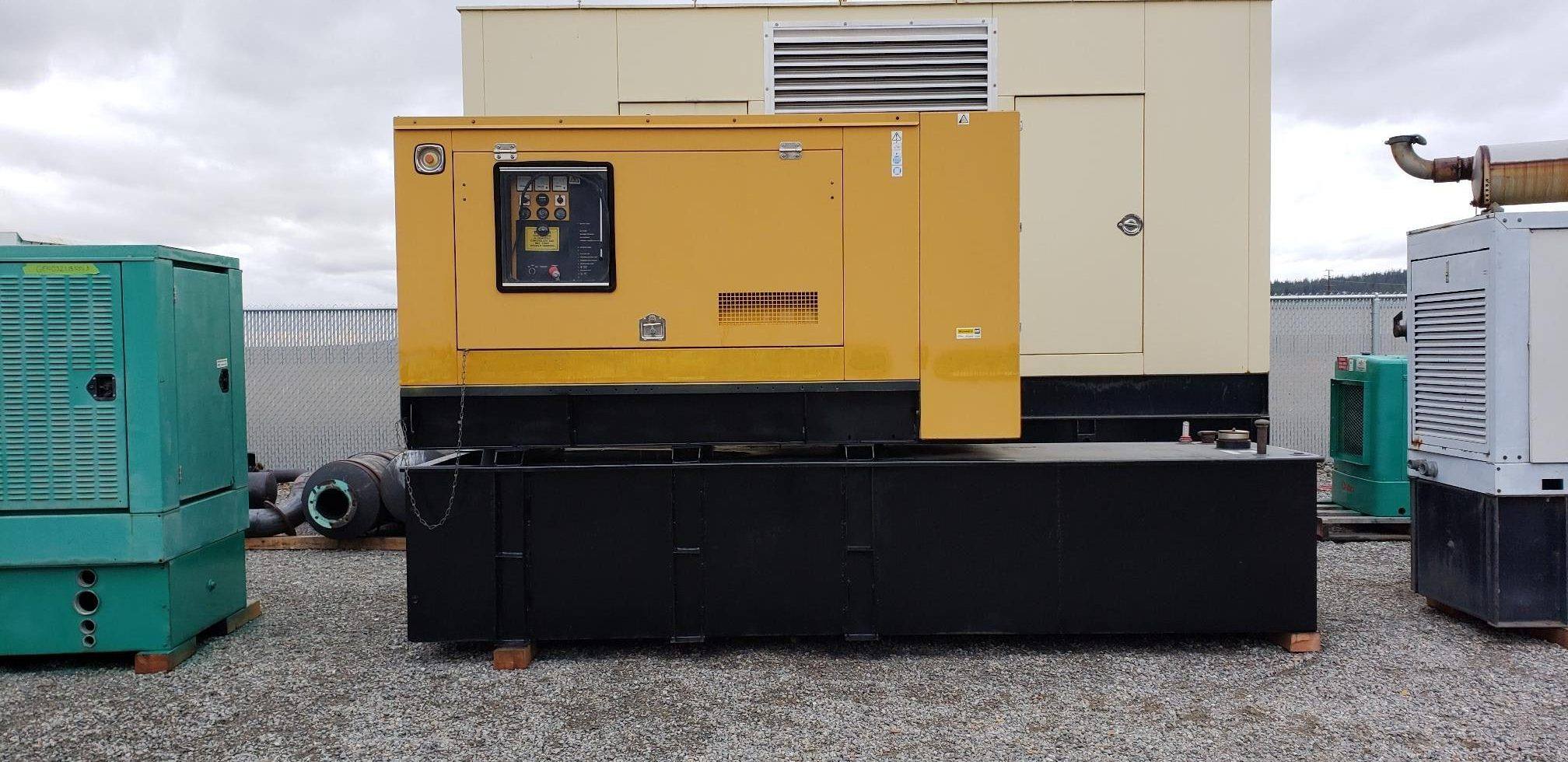 100 kW Olympian Diesel Generator with only 384 hours since new