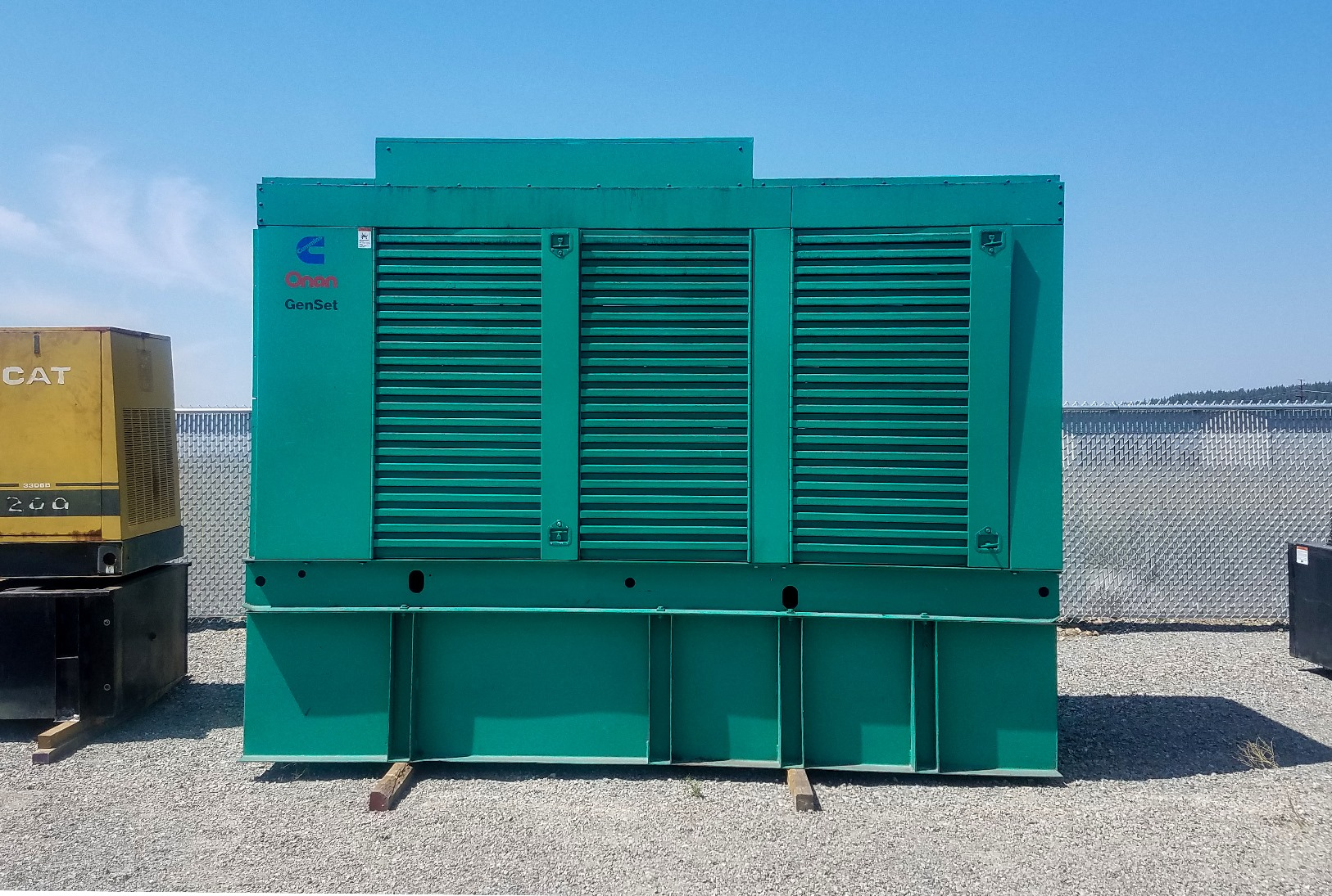 500 kW Cummins Diesel Generator with only 505 hours since new