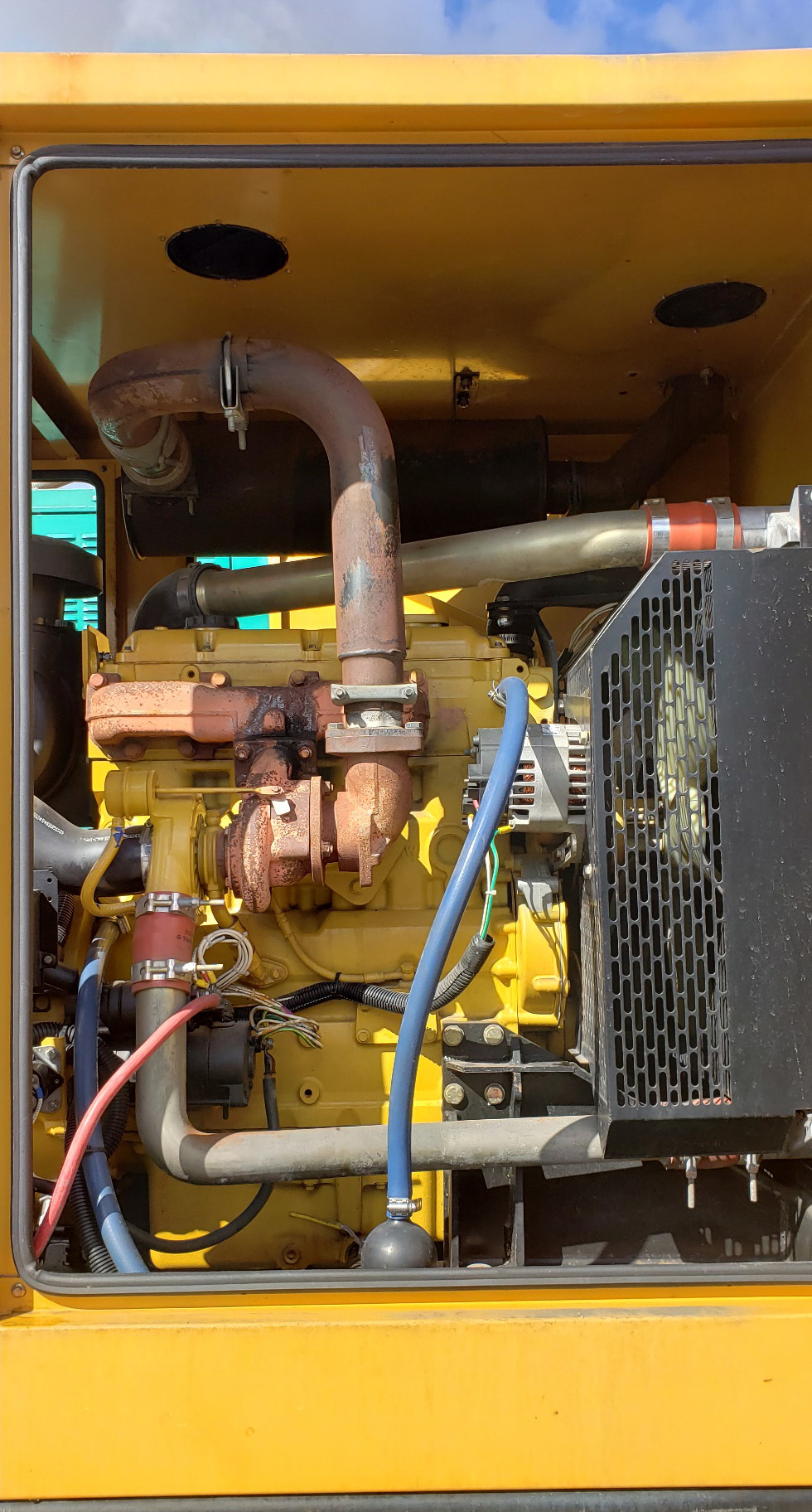 100 kW Olympian Diesel Generator with under 240 hour since new