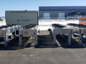4 Fan Liebert Condensers