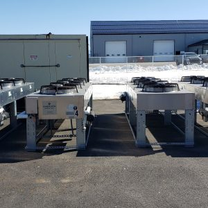 4 fan Liebert Condeners lot