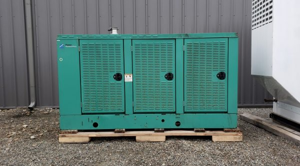 85 kW Cummins Natural Gas Generator - MFD 2003