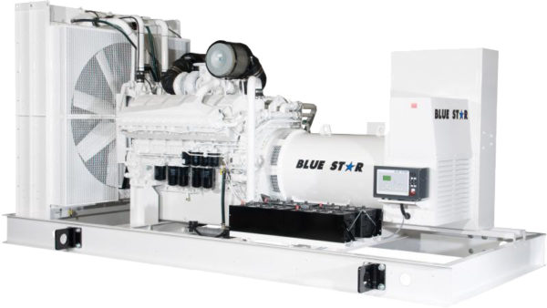 660 kW Blue Star Power Systems Natural Gas Generators